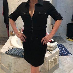 Black suit dress
